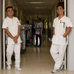 Pinoy nurses in Belgian Hospital